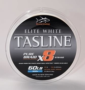 Tasline Elite PE 6  60lb Solid Casting 8-Braid  600m
