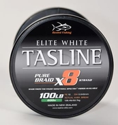 Tasline Elite PE 10  100lb Solid Casting 8-Braid  1000m