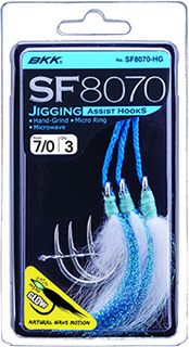 SF 8070 HG 9/0 Jig Assist Hook