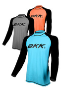 BKK Long Sleeve Fishing Shirt Black / Blue Model 1506